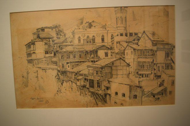 Georgia Sighnaghi museu imagem tbilisi