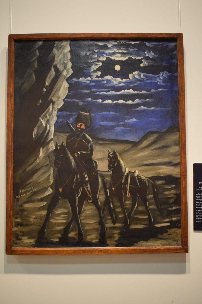 Georgia Sighnaghi museu pirosmani 1