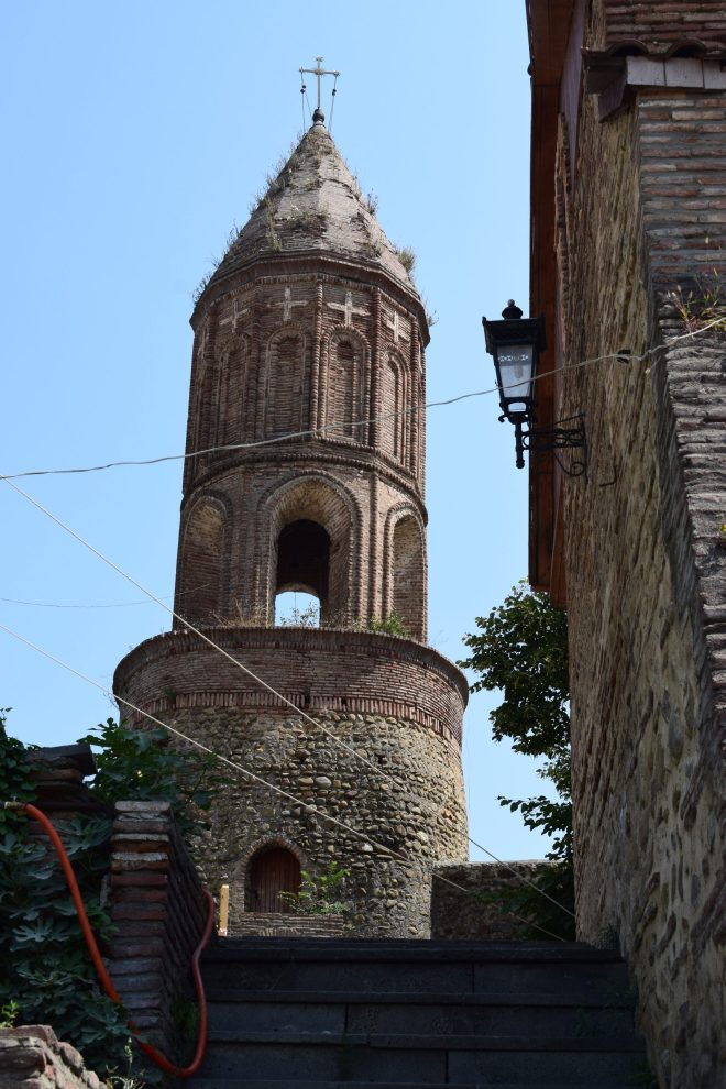 Georgia Sighnaghi torres centor historico