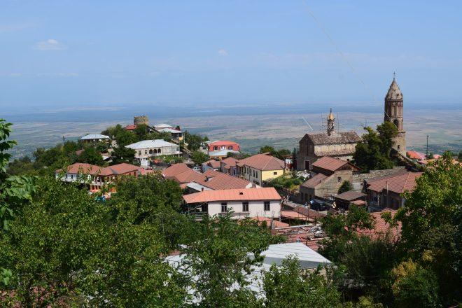 Georgia Sighnaghi vista centro historico 3