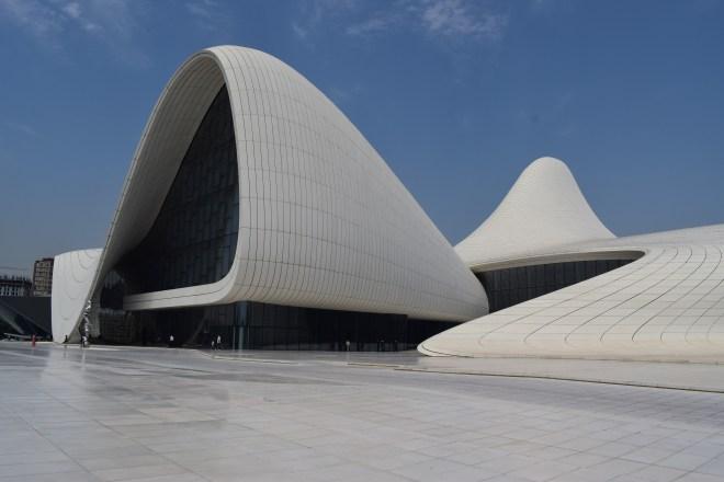 Baku moderna centro Heydar Aliv Hadid 2