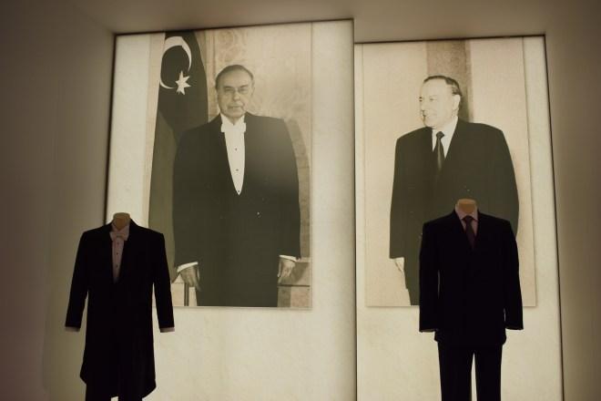 Baku moderna centro Heydar Aliv Hadid exposição presidente