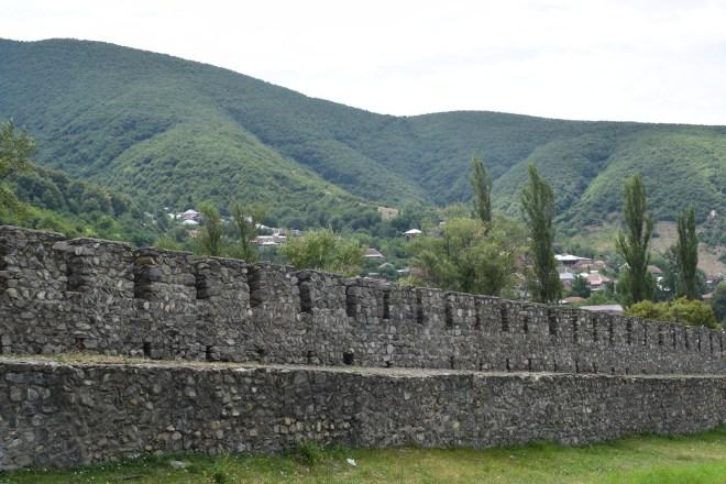 Sheki rota seda muralhas
