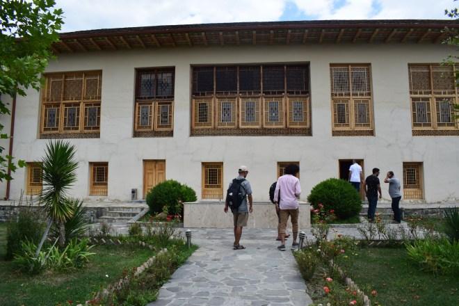 Sheki rota seda palácio inverno khans 1