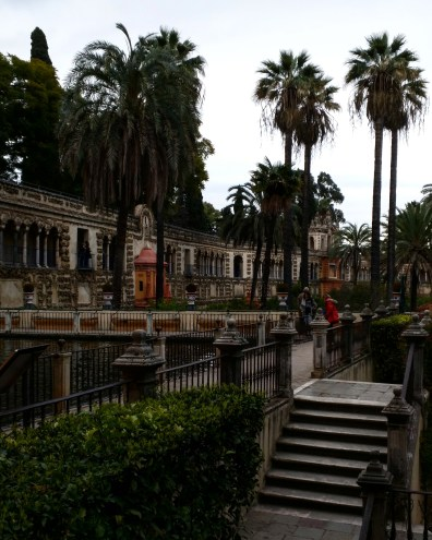 Alcazar Sevilha jardim 6