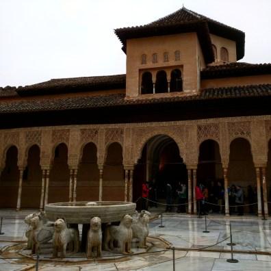 Pátio dos leões 4 Alhambra Granada