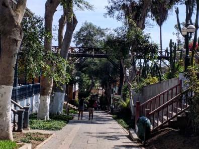 Lima Barranco bajada banos