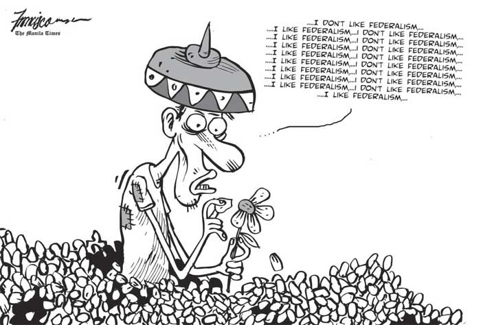 OP ED EDITORIAL & CARTOONS: MANILA – FEDERALISM