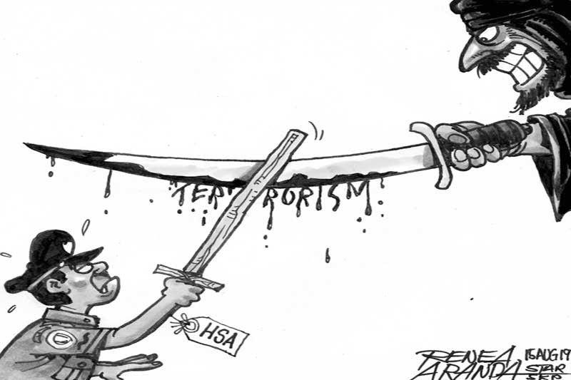 ED CARTOONS: Trust deficit