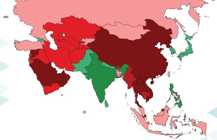 選舉自由指數:泰國排名全球倒數第三 – ASEAN PLUS 南洋誌
