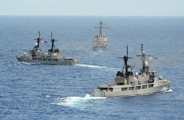 2014年菲美海軍共同演訓(Official U.S. Navy Page)