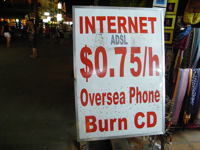 Internet Cafe - Siem Reap (Ik T)