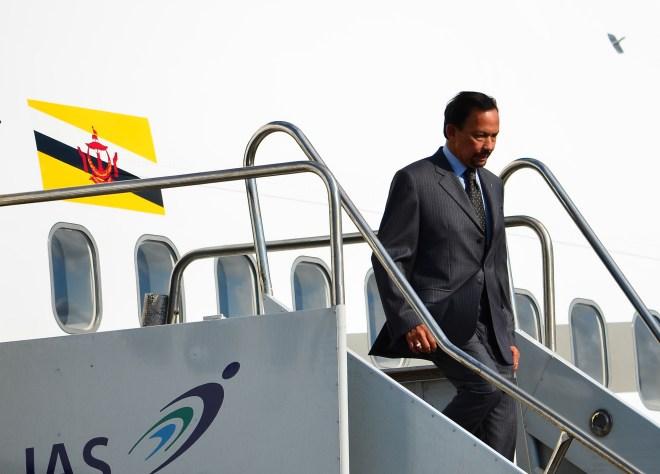 Hassanal Bolkiah (APEC 2013)