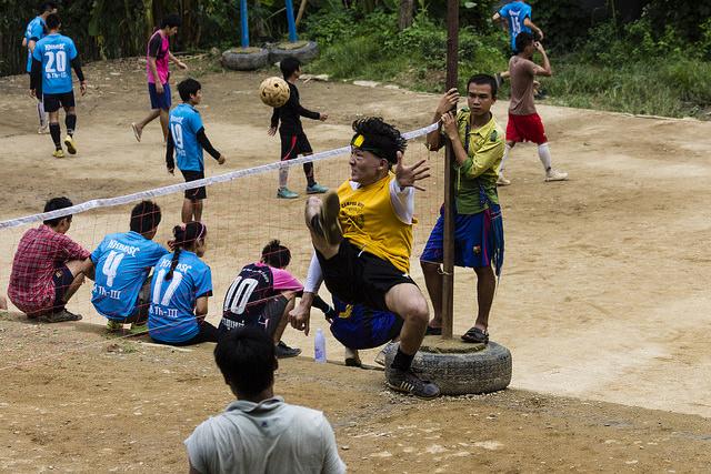 Mae Lah Oon refugee camp in northern Thailand(Joey Marasek)