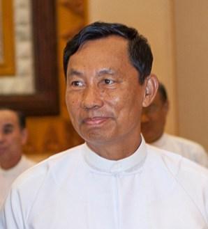 前人民議會議長兼執政黨黨主席瑞曼。(Photo Credit: Prachatai@Flickr CC BY 2.0)