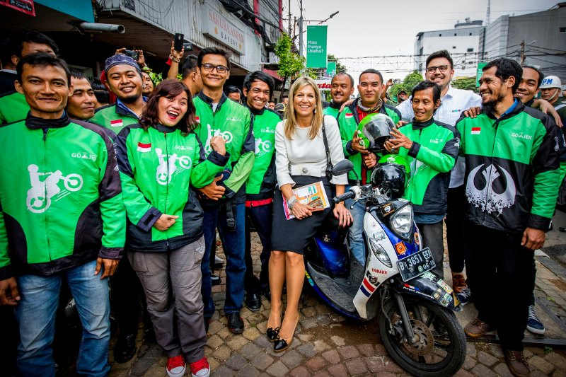 Koningin Maxima bezoekt Indonesie, dag 2