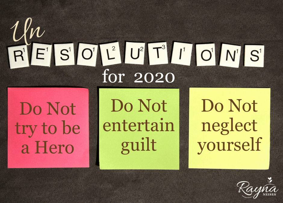 New Year's UnResolutions