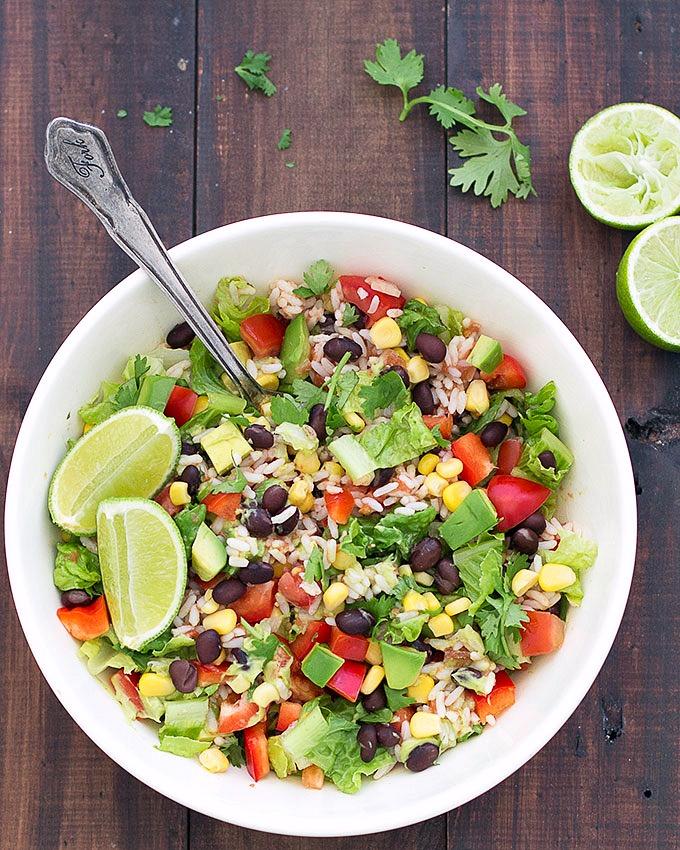 Vegan Burrito Salad Bowls As Easy As Apple Pie
