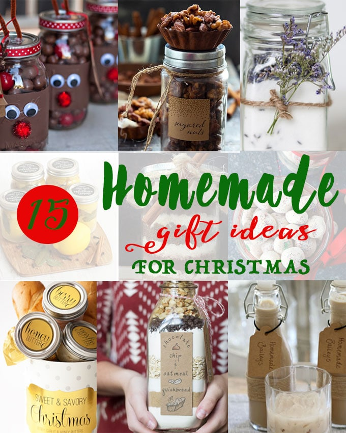 homemade food gifts for