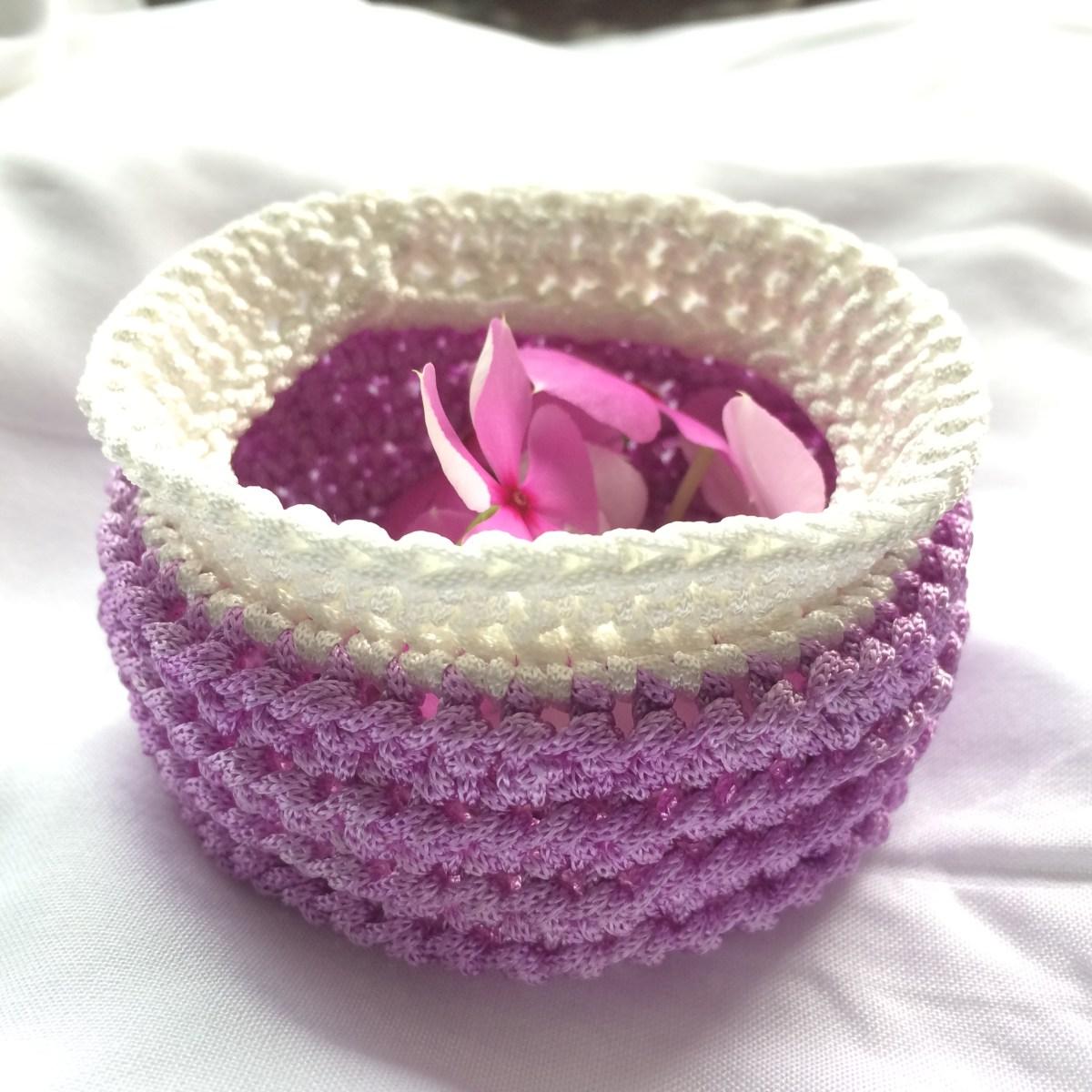 Crochet Pot