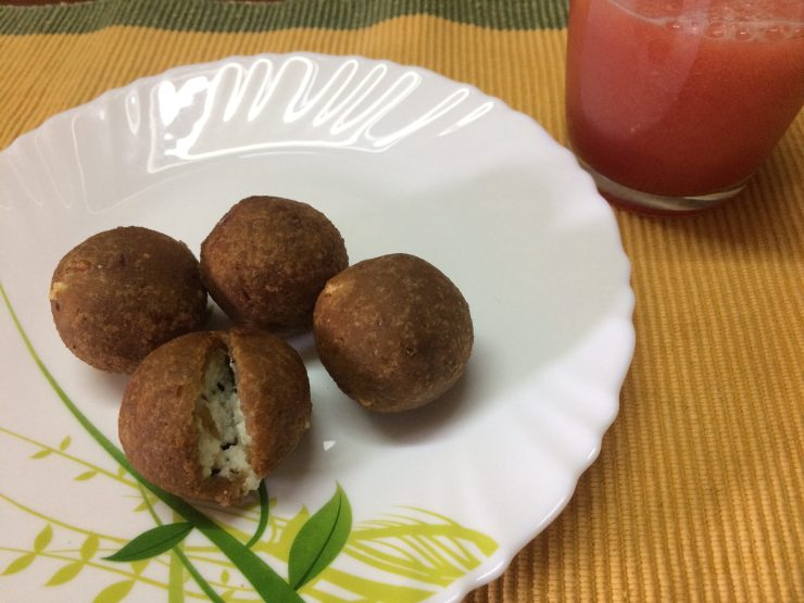 Bread and Paneer Balls