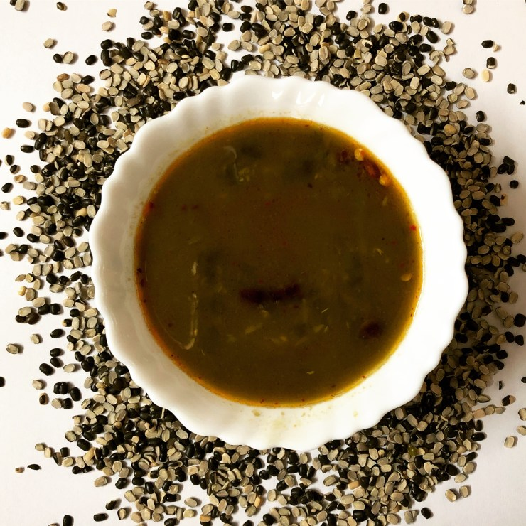 Kali Dal or Dhal/Split Black Gram Lentil