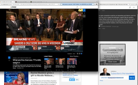 Final thoughts on Election Night in Wisconsin. | Fair use of media.