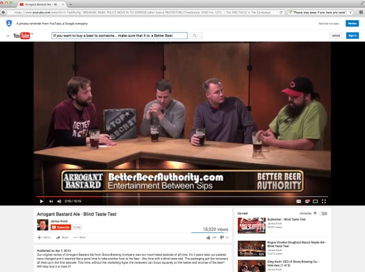 Because Media —like good beer— Matters. | Fair use of hairy guy and some pretty serious beer advocate guys.