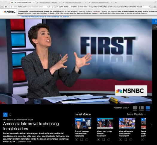Dear Lawrence: this is what Synergy looks like. | Fair use of MSNBC (Int'l ed.)… watch that space.