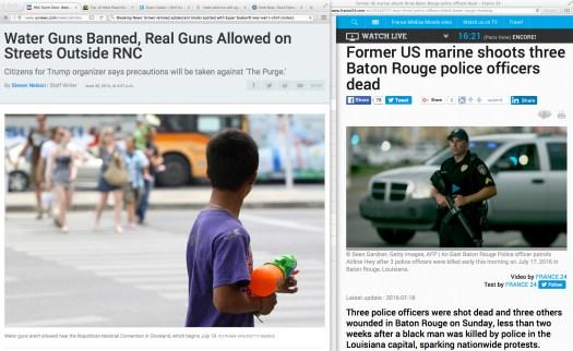 [Context follows in just a few minutes…] Uso justo de las noticias locales, y también de las que llegan de USANEWS.