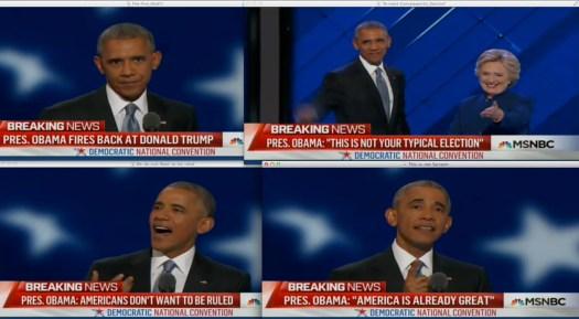 Uso justo del Presidente de los Estados Unidos Americanos, Barack H. Obama.