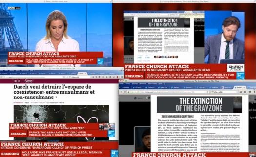 Los Ataques… a la orden del día.   Uso justo de France24.