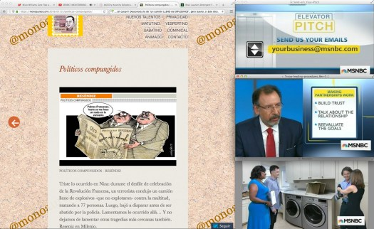 Vagabundeando noticias… para esquivar las telenovelas.