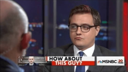 [Context will follow]. | Uso justo of The Nation of Chris Hayes… and MSNBC —of course.