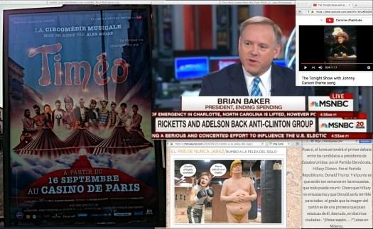 In SIGN language: Uso Justo de Todos los Medios… | Uso justo de el Show de los Anochecidos con Johnny Carson.