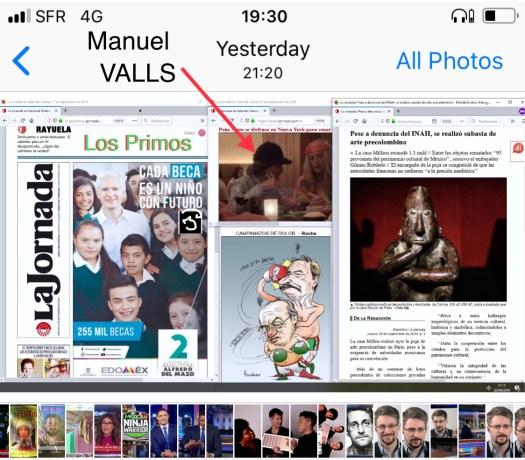 Manuel Valls se disfraza