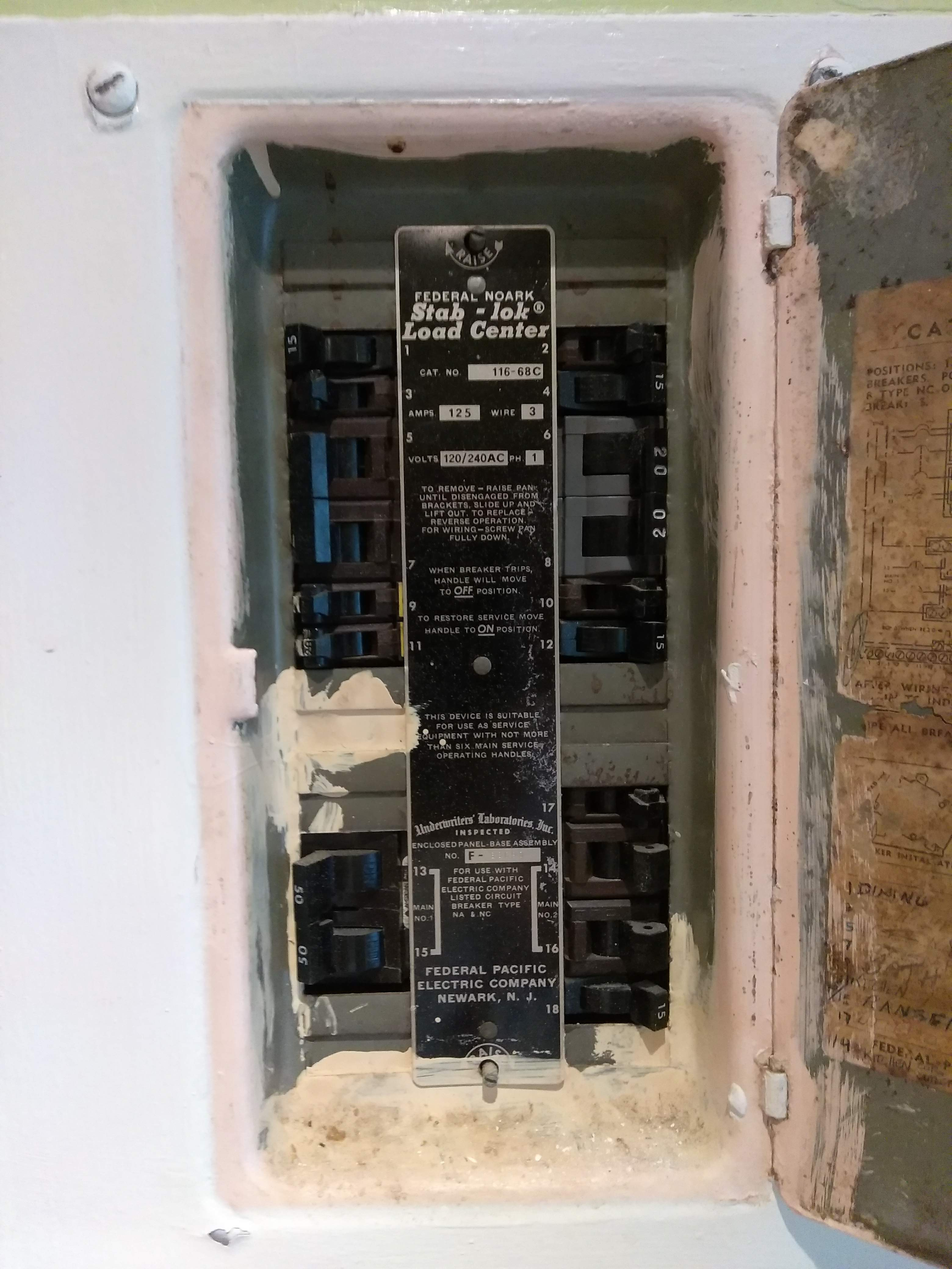 Pleasant Federal Pacific Electric Circuit Breakers A S Electric Inc Wiring Database Indigelartorg