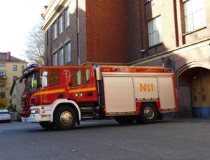 Sisäministeriön mukaan pelastuslaitosten vähentäminen ei vaikuta paloasemien määrään.
