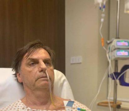 Image result for Bolsonaro tem dieta oral suspensa e vai para alimentação endovenosa