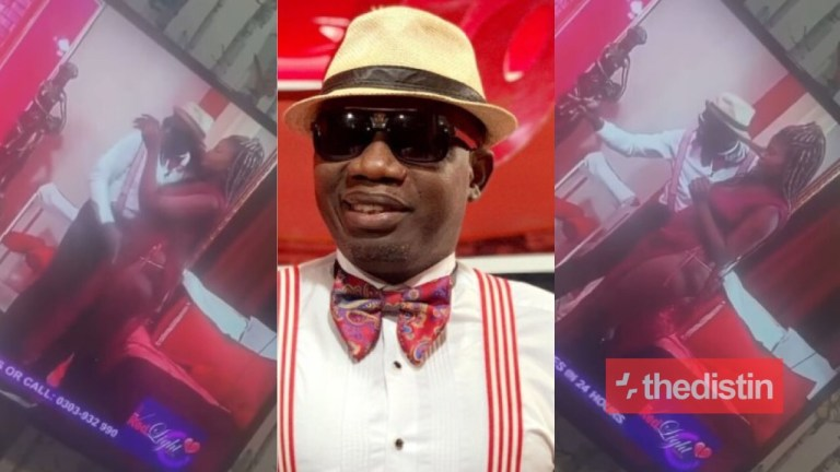 Video Of Counselor Lutterodt Playing With The Cl!t Of A Lady Live On Tv Goes Viral
