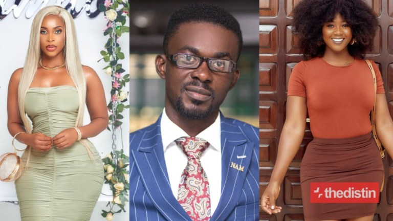 """Nana Appiah Mensah """"Eat"""" Salma And Benedicta Gafah Falaa; And Salma Forced Him To Open A Restaurant For Her – Snapchat User Alleges"""