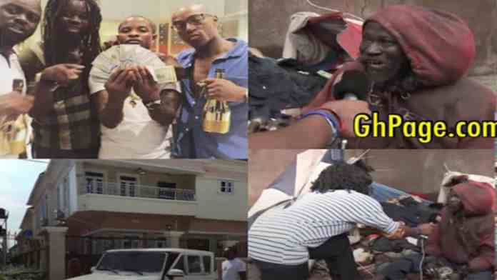 WATCH VIDEO:  Top millionaire in Ghana narrates how a mad man made him rich
