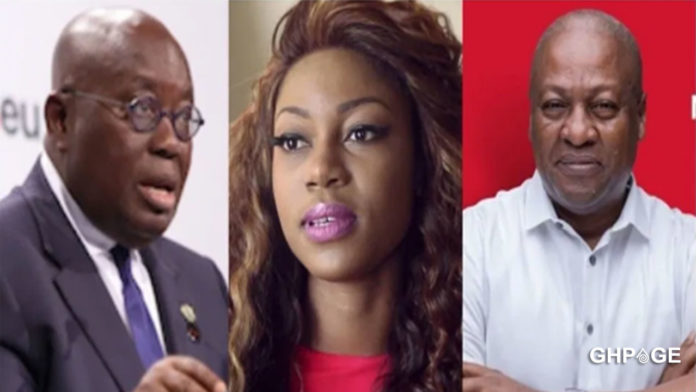We are fed up with the Akufo Addo led government – Yvonne Nelson roars