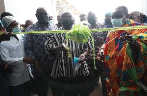 Dr Mahamudu Bawumia commissions new 1D1F company at Nsawam
