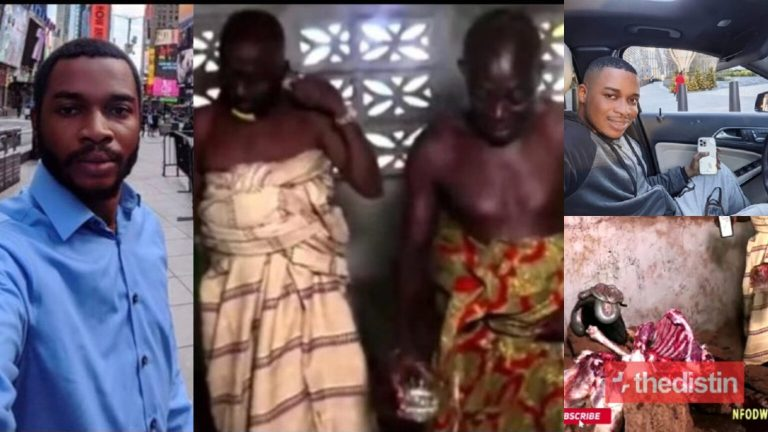 Fake Video: Twene Jonas Was Never Cursed By Bechem Traditional Chiefs