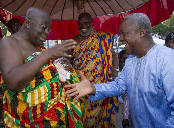 Akufo-Addo and John Mahama