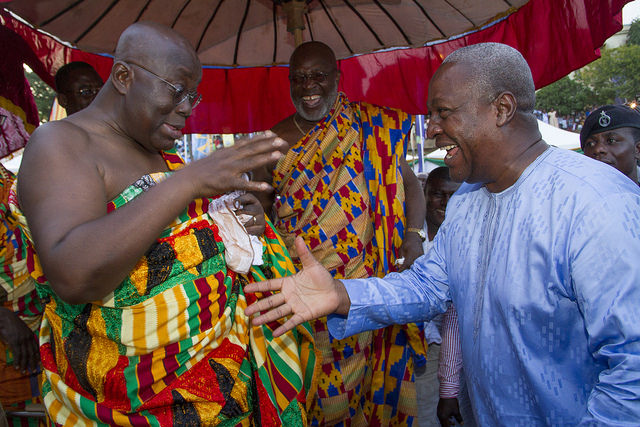Akufo-Addo and John Mahama, Ghana Political News Report Articles