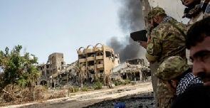 Fighters from Libyan forces drove the Islamic State out of the town of Sirte