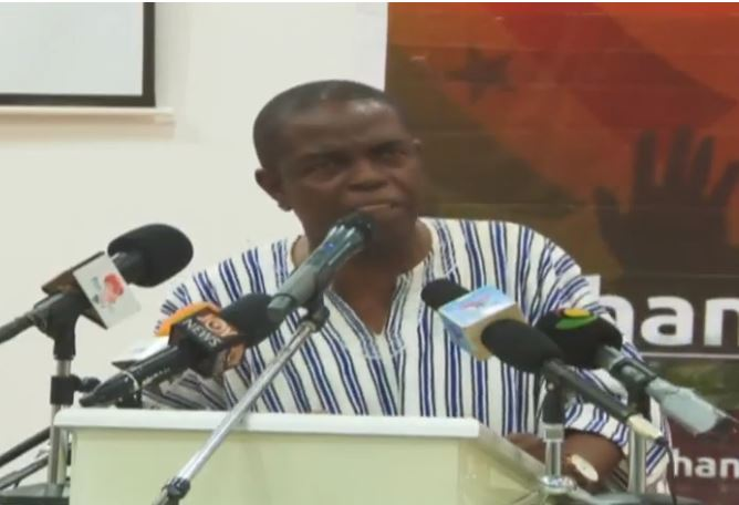 Kwesi Pratt Jnr at GH-US military deal forum