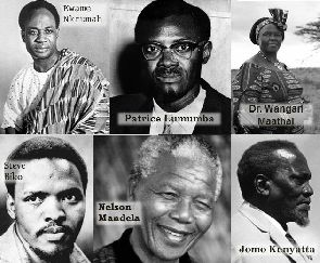 Some founders of Pan Africanism